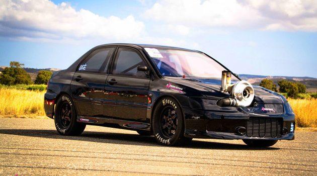 怪兽 Mitsubishi Lancer Evolution 不到8秒飙出297km/h!内附影片!