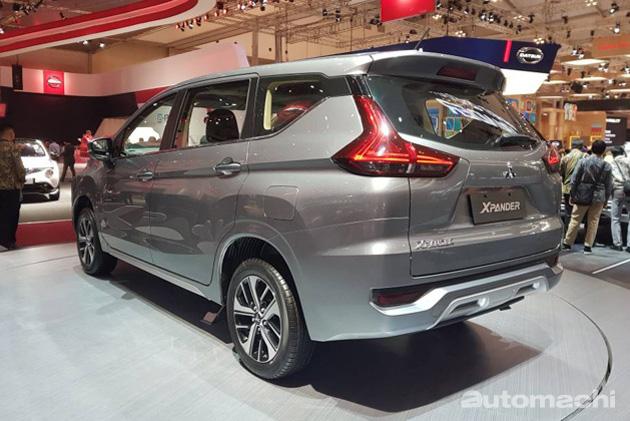 Mitsubishi Xpander 印尼车展正式亮相,实车照抢先看!