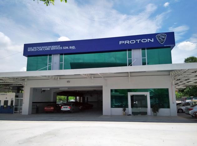 Proton 雪州 Seri Kembangan 车身维修与喷漆中心正式开幕!