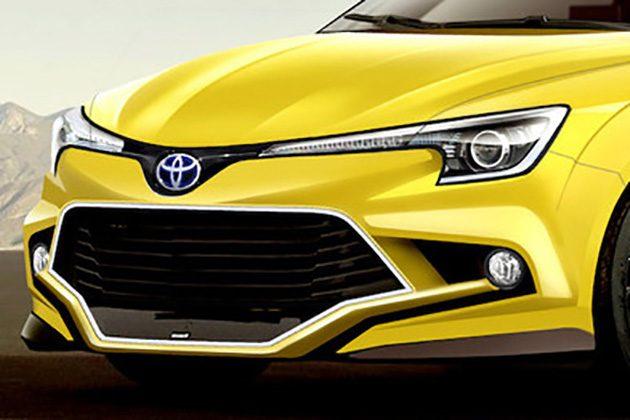 Toyota Corolla Turbo 小钢炮长这样你觉得OK吗?