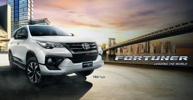 Toyota Fortuner TRD Sportivo 印尼帅气登场!