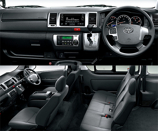 Toyota Hiace 日规小改款,连Van仔都有Toyota Safety Sense!