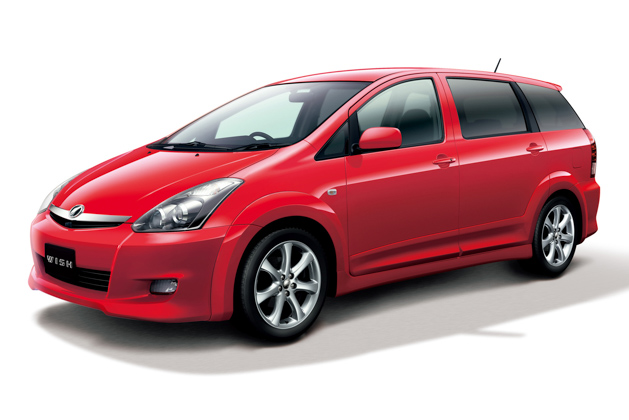 Toyota Wish 一代7人座MPV将于今年停产,再见了愿望!