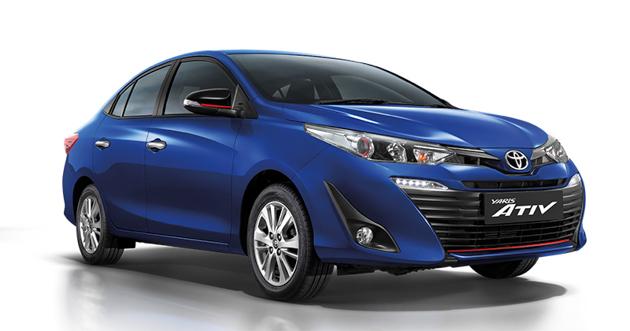 Toyota Yaris ATIV 正式推出,全车系搭载7具安全气囊!