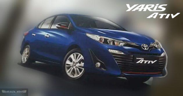 Toyota Vios 新一代曝光? Toyota Yaris ATIV 真面目流出!
