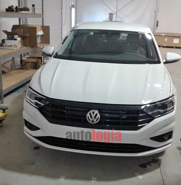 Volkswagen Jetta 2018 全新美规无伪装照曝光!