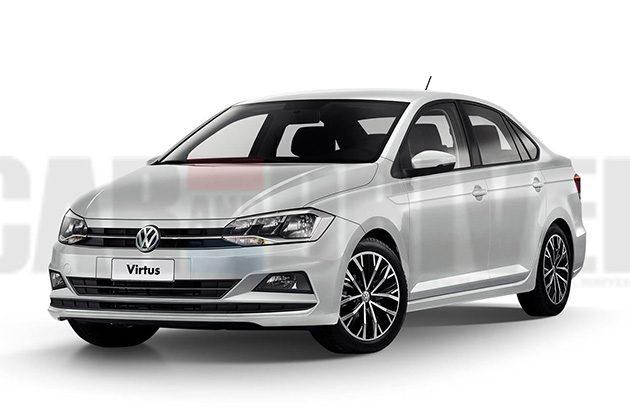 Volkswagen Virtus 再度流出谍照,这次看得更清楚!