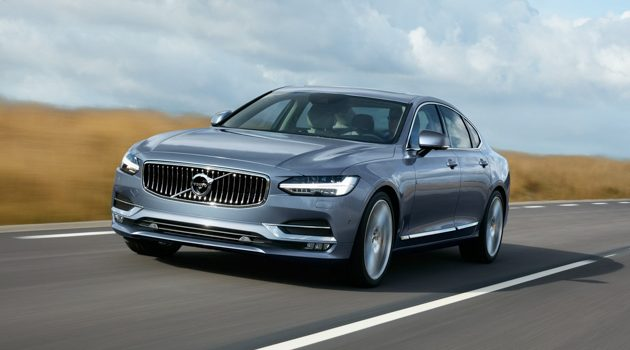 Volvo S90 T8 PHEV 公开订购,优惠价 RM 348,888 !