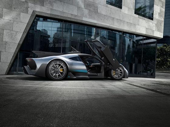 Mercedes-AMG Project One 正式发表!千匹马力的Hyper Car!