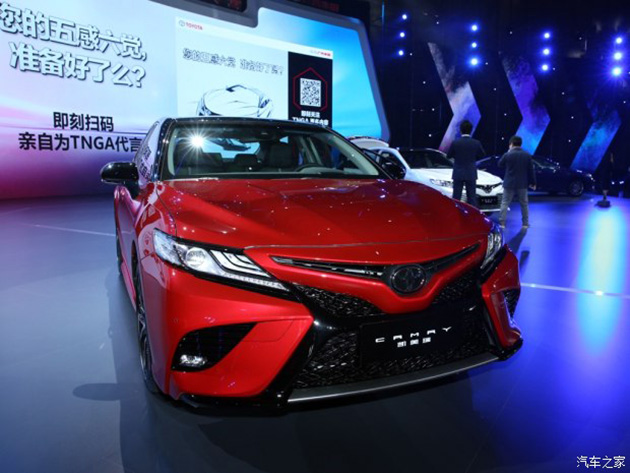 Toyota Camry 2018 亚洲版现身,确定搭载 2.0L 自然进气引擎!