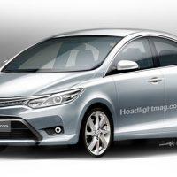Toyota Vios 新一代情报,或化身全球战略车!