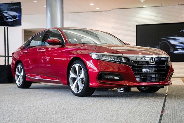 Honda Accord 2018 正式下线!明年进军大马!
