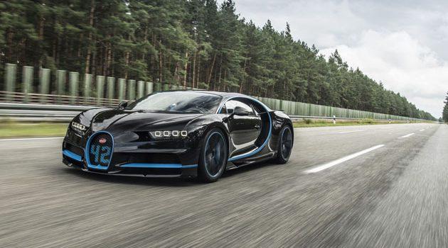 地表最快的跑车! Bugatti Chiron 400km/h极速达成!