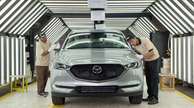 Mazda CX-5 2017 怎么生产?带你去看它的生产线!