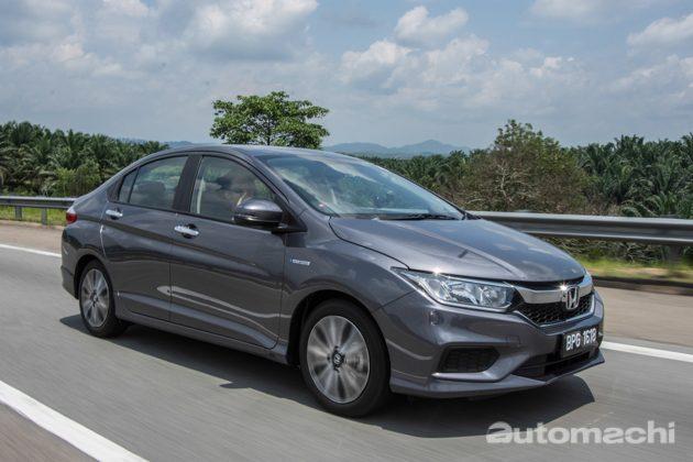 Honda City Hybrid ,会跑马儿不吃草的典范!