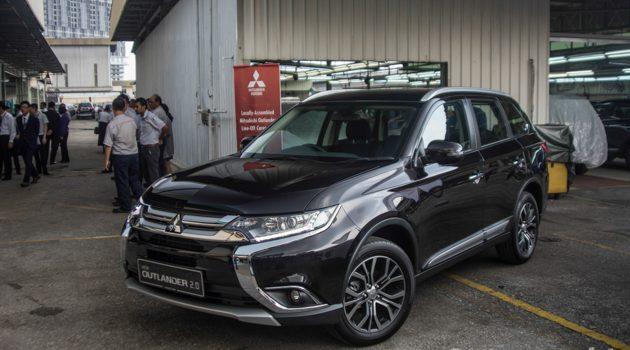 Mitsubishi Outlander 2.0 CKD 登场!更为划算的7人座SUV!