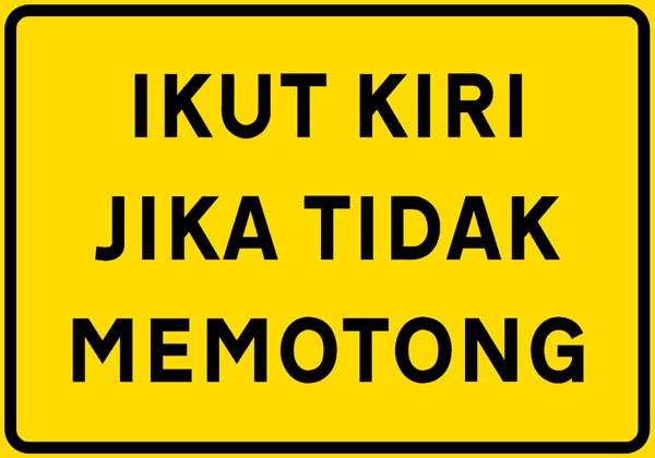 谈一谈马来西亚司机驾驶的 bad habit