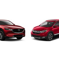 Mazda CX-5 VS Honda CR-V ,SUV王者之争谁胜谁负?