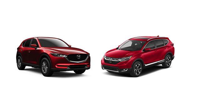Mazda cx 5 vs honda cr v suv for Honda cr v vs bmw x3
