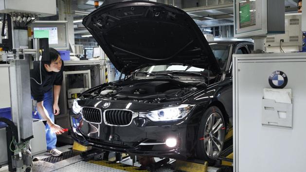 来看看 BMW 3 Series F30 的生产过程!