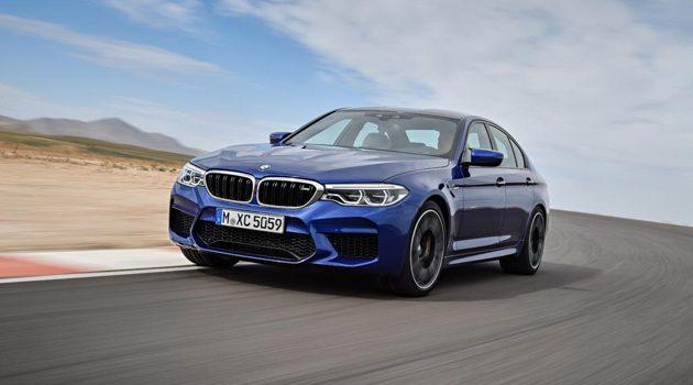 BMW M5 F90 加速3.4秒就破百,表现棒棒哒!