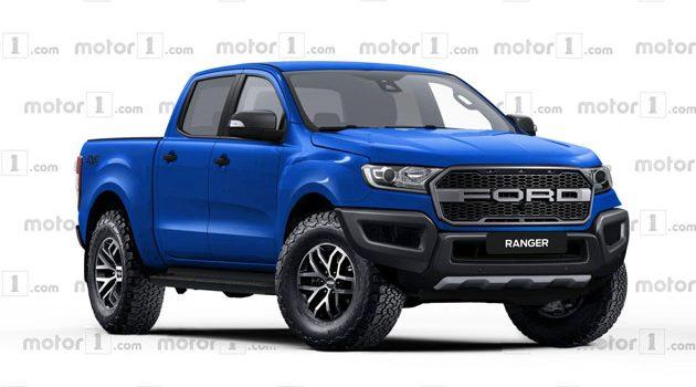 Ford Ranger Raptor 预告释出!性能版皮卡成真!