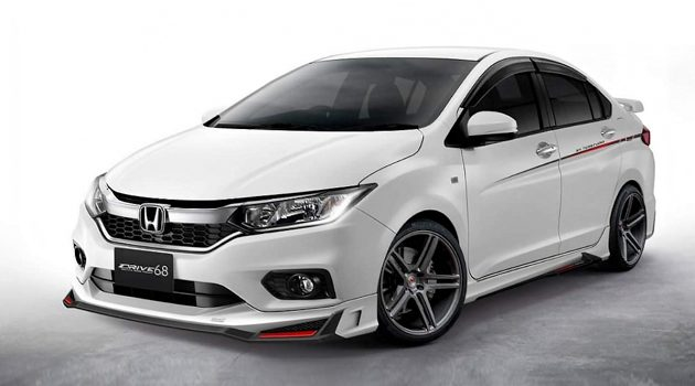 Honda City 2017 Drive68 bodykit 空力套件登场!