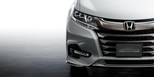 Honda Odyssey 小改款官图发布,11月正式亮相!