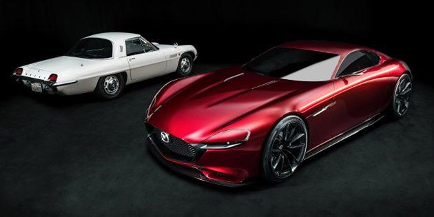 转子回归! Mazda 确定东京车展发表RX系列跑车!
