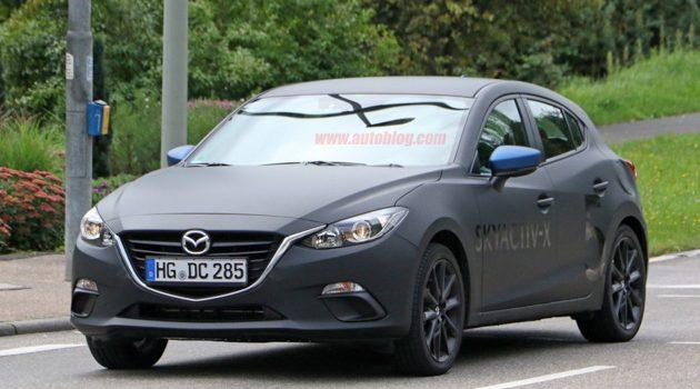 好风骚! Mazda 大喇喇公告测试 SKYACTIV-X !