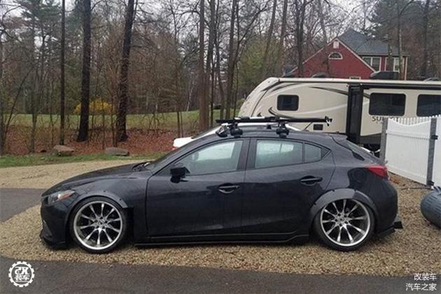 低趴宽体 Mazda3 Hatchback ,简单就是美! Automachi Com