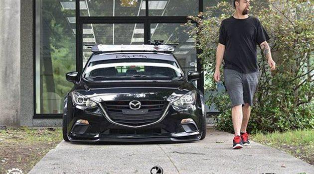 低趴宽体 Mazda3 Hatchback ,简单就是美!
