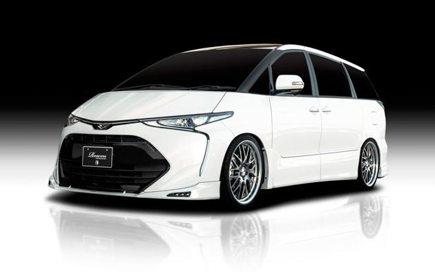 Toyota Estima ROWEN bodykit 帅气登场!