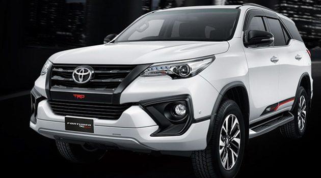Toyota Fortuner 新增4×2 两驱版,售价17万令吉起跳!