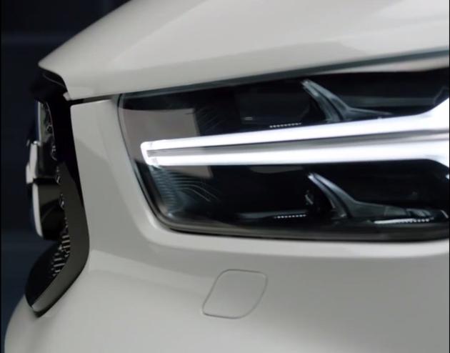 Volvo XC40 意外曝光,你觉得漂亮吗?