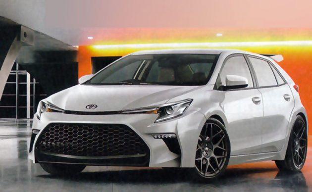Toyota Corolla Hatchback 2018 正式现身!东京车展首演?