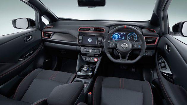 Nissan Leaf Nismo Concept登场!连电动车也要运动!