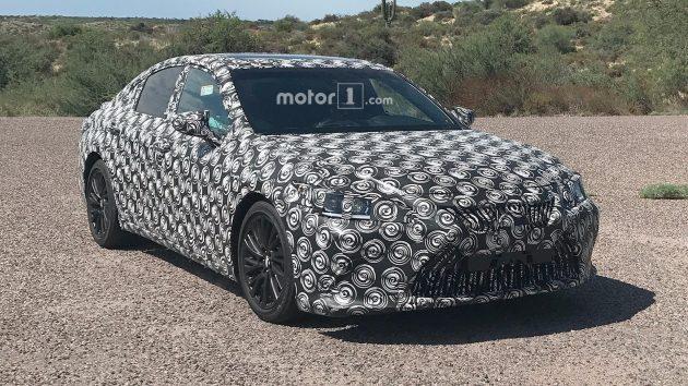 Lexus ES 2018 首次现身,帅气中大型豪华房车!
