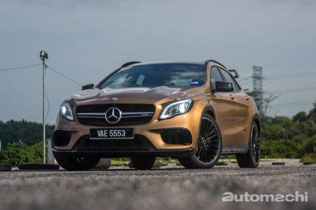 Mercedes-AMG GLA45 ,别有一番风味!