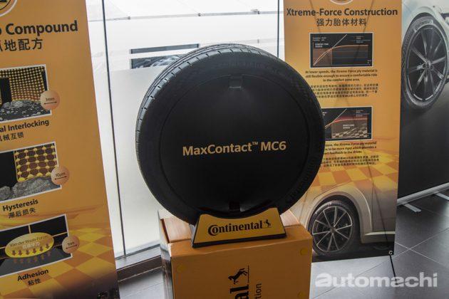 Continental MaxContact MC6 正式发表!指定对手神胎PS4!