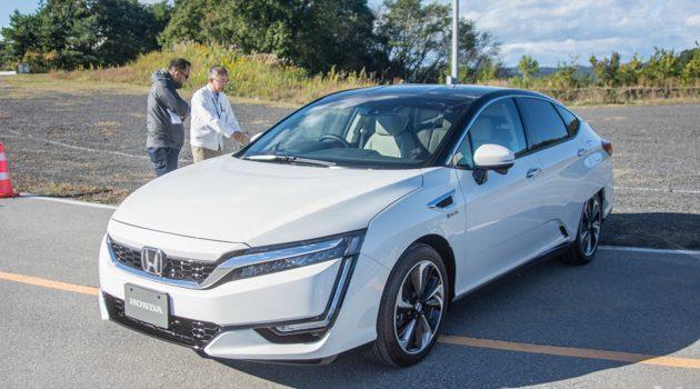 东京车展2017: Honda Clarity PHEV 正式发表!