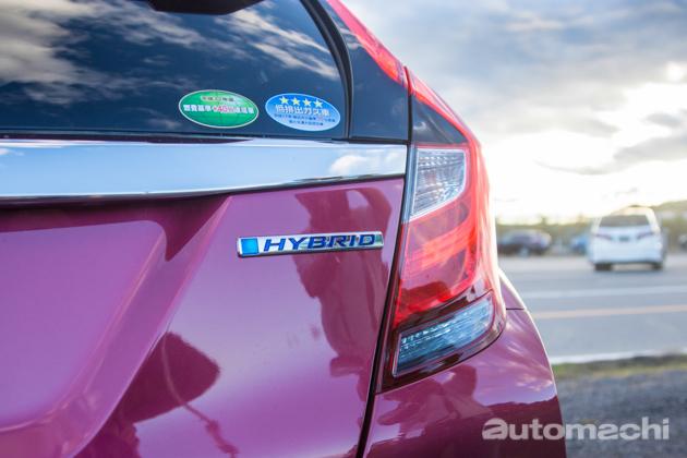 日本实拍: Honda Grace Hybrid 及 Fit Hybrid !