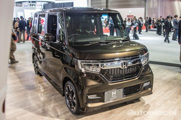 东京车展 2017: Honda N-Box 大空间魔王!