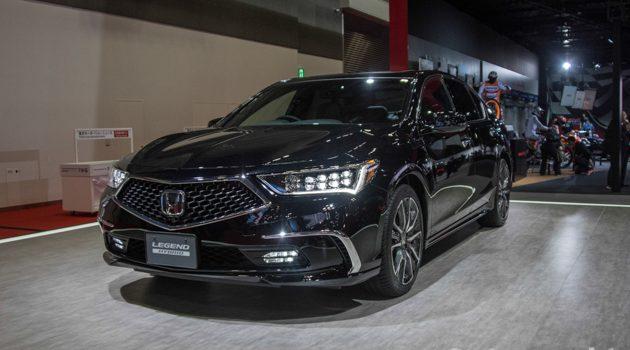 东京车展 2017: Honda Legend 传奇再登场!