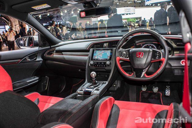 东京车展 2017: Honda Civic FK8 内装实拍!