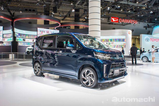 东京车展 2017: Daihatsu Move Custom 改款实拍!
