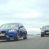 两代 BMW 5 Series 赛道对决,看看两代的进展在哪里!