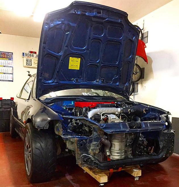 不一样的 Honda Civic EG ,引擎盖下内有乾坤!