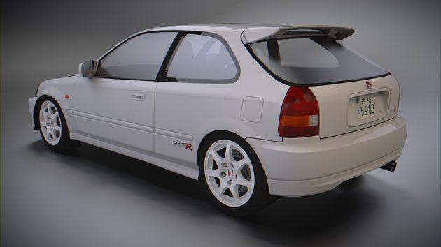 经典车款回顾: Honda Civic Type R EK9 !