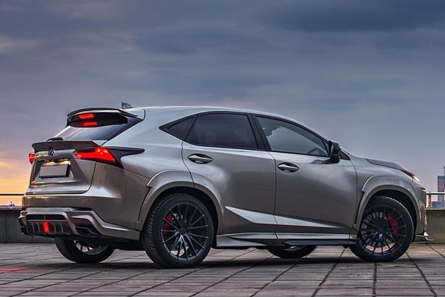 Lexus NX GreyWolf bodykit ,优雅的小灰狼!